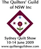 Sydney Quilt Show 2009