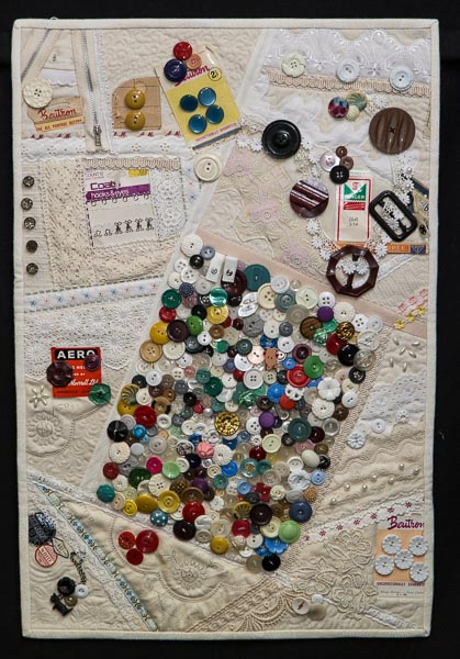 Remember Granma's button box: Tonia Barton