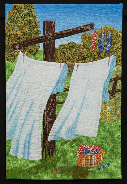 JUDGES COMMENDATION and VIEWER\'S CHOICE: Monday Wash day: Julie Harding
