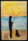 My dad, his dog and his fishing rod: Pamela Pearce