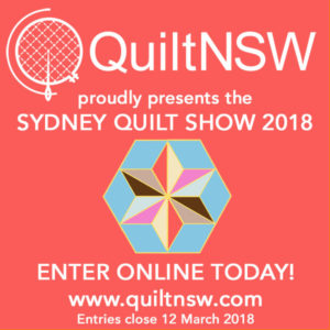 Sydney Quilt Show 2018 - Call for Entries