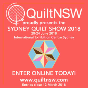 Call for Entries: Sydney Quilt Show 2018
