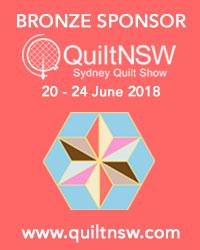 Sydney Quilt Show 2018 Bronze Sponsor