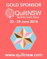 Sydney Quilt Show 2018 Gold Sponsor