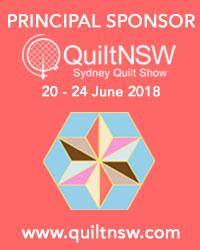 Sydney Quilt Show 2018 Principal Sponsor