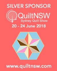 Sydney Quilt Show 2018 Silver Sponsor