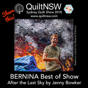 BERNINA Best of Show 2018 Jenny Bowker