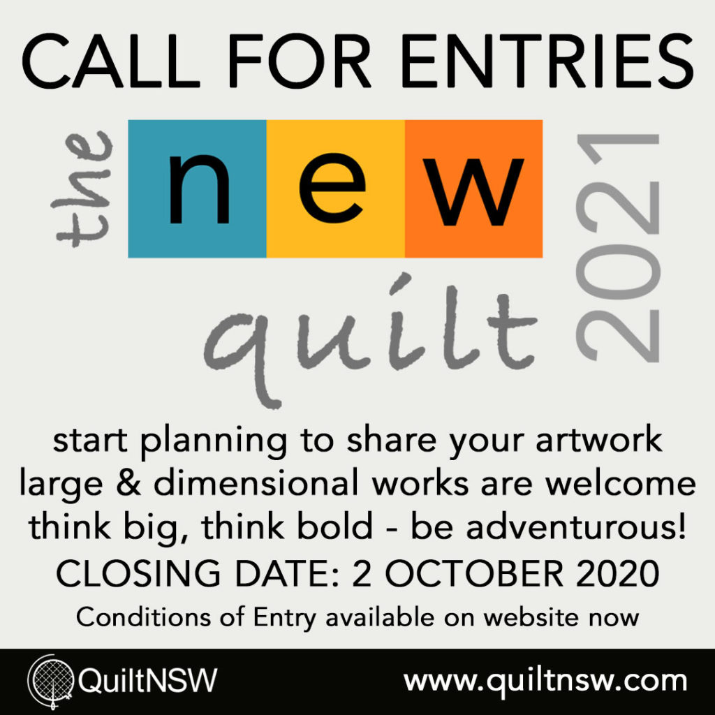 The New Quilt - Call for Entries