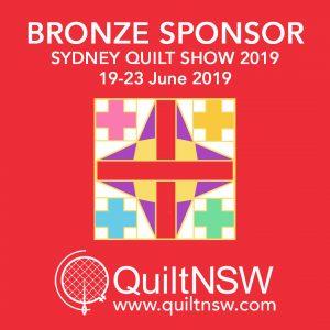 Sydney Quilt Show 2019 - Bronze Sponsor
