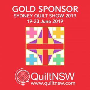 Sydney Quilt Show 2019 - Gold Sponsor