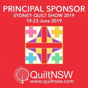 Sydney Quilt Show 2019 - Sliver Sponsor