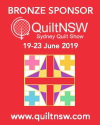 Sydney Quilt Show 2019 Bronze Sponsor