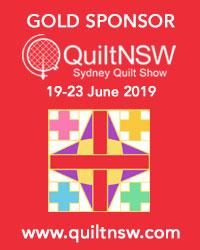 Sydney Quilt Show 2019 Gold Sponsor