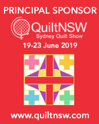 Sydney Quilt Show 2019 Principal Sponsor