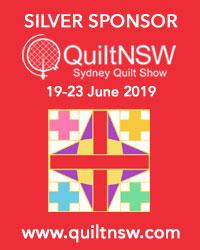 Sydney Quilt Show 2019 Silver Sponsor