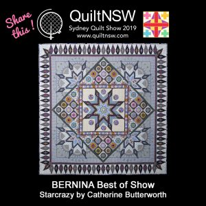 BERNINA Best of Show Starcrazy by Catherine Butterworth