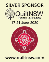 Silver Sponsor Sydney Quilt Show - QuiltNSW