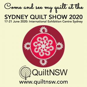Sydney Quilt Show 2020 Come and See my Quilt