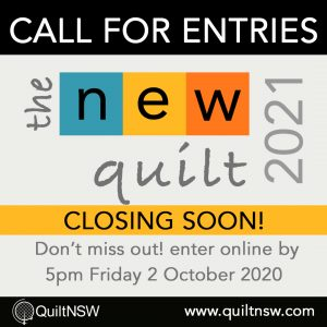 The New Quilt Call for Entries - Closing Soon!