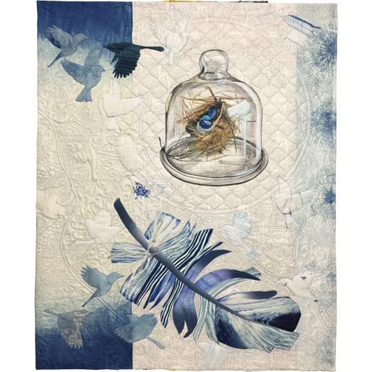 Blue Specimen by Julie Haddrick