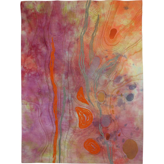 Topography #1 Tailings by Lynne Hargeaves