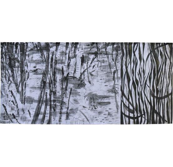 Creek Drawing #7 Judy Hooworth