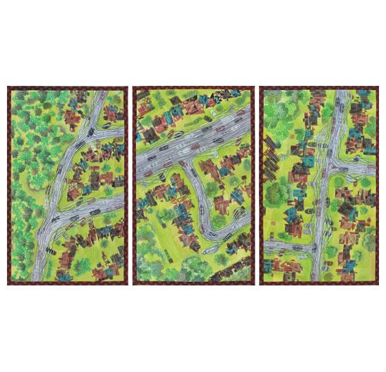 Habitat Drift 1,2&3 by Judi Nikoleski