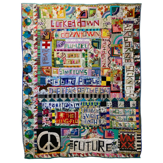 The MMXX Quilt by Jessica Wheelahan
