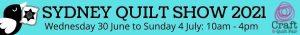 Sydney Quilt Show 2021