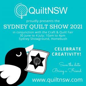 Sydney Quilt Show 2021 Promo