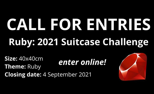 Call for Entries: Ruby Suitcase Challenge