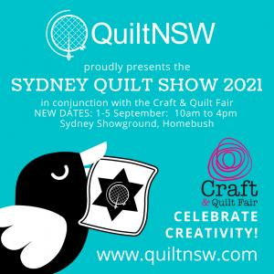 Sydney Quilt Show 2021 New Dates
